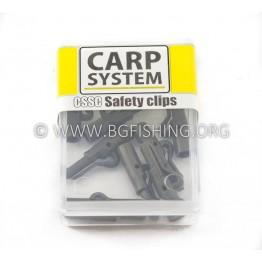 Клипсове Carp System Safety Clips CSSC