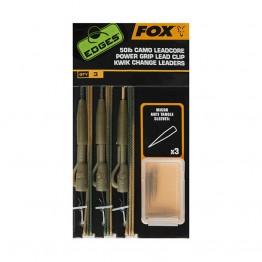 Материали за монтаж Fox Tied Camo Leadcore Lead Clip