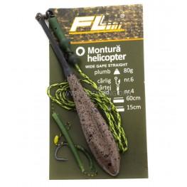 Монтаж helicopter с олово FL