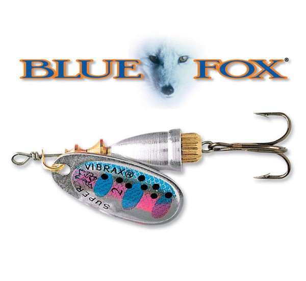 Блесна Blue Fox Vibrax Fluorescent RT