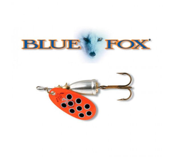 Блесна Blue Fox Vibrax Hot Pepper RBS