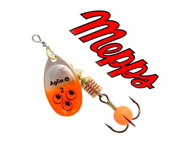 Блесна Mepps Aglia-E AG Orange Bright