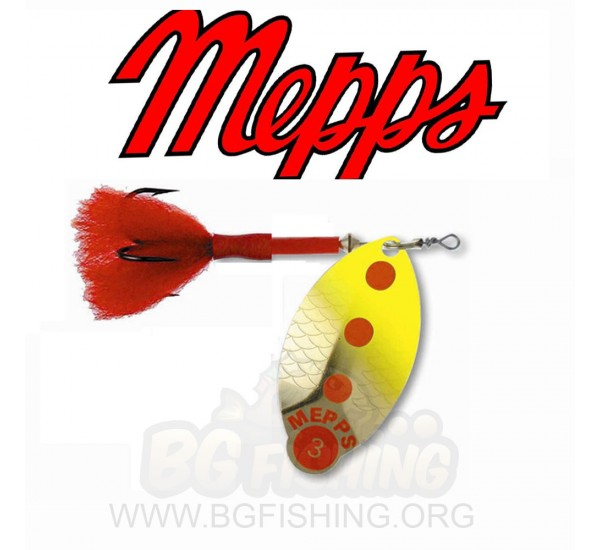 Блесна Mepps Lusox OR Fluo