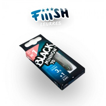 Fiiish Black Minnow No1 Combo 7 cm 3g