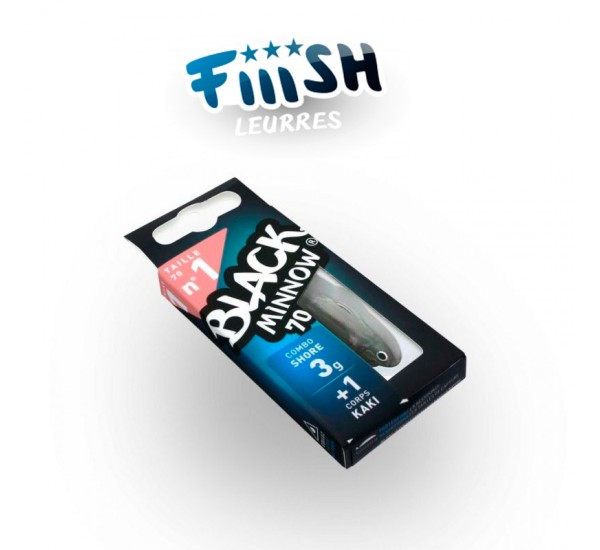 Fiiish Black Minnow No1 Combo 7 cm 4.5g
