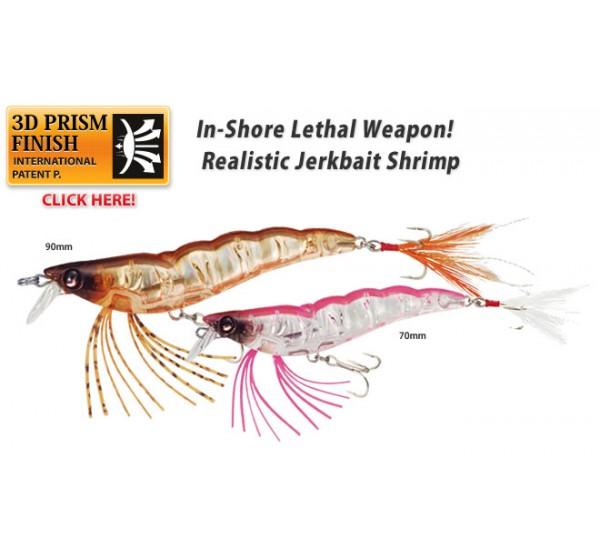 Воблер Yo-Zuri Crystal 3D Shrimp SS F988