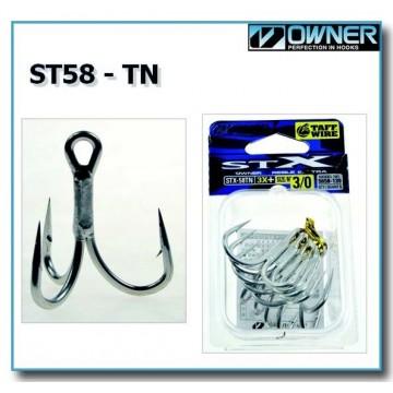 Тройни куки Owner ST-58 TN 3X+