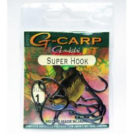 Куки Gamakatsu G - Carp SUPER HOOK