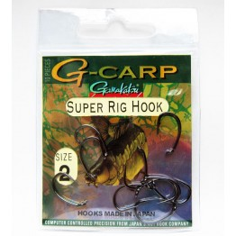 Куки Gamakatsu G - Carp SUPER RIG HOOK