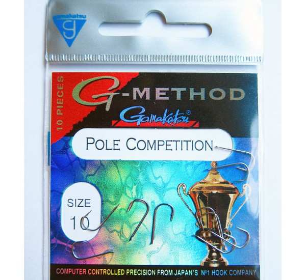 Куки Gamakatsu G - Method Pole Competition