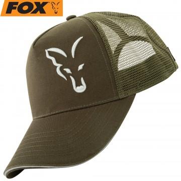 Шапка Fox Green/Silver Trucker