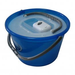 Кофа за жива стръв кръгла+помпа и капак 18 литра