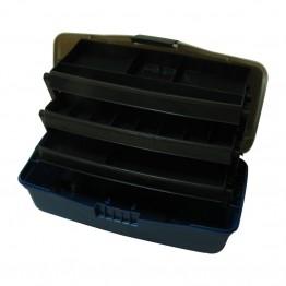 Куфарче 3 нива голямо синьо овал - (BOX-L3P)