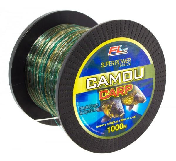 Влакно FL Camou Carp 1000м