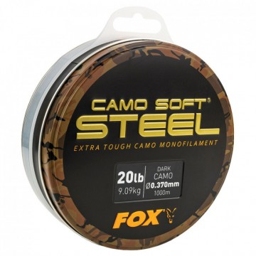 Влакно Fox Soft Steel Dark Camo 1000м