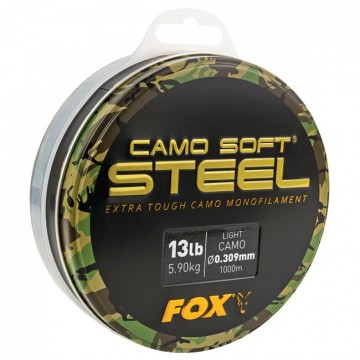 Влакно Fox Soft Steel Light Camo 1000м