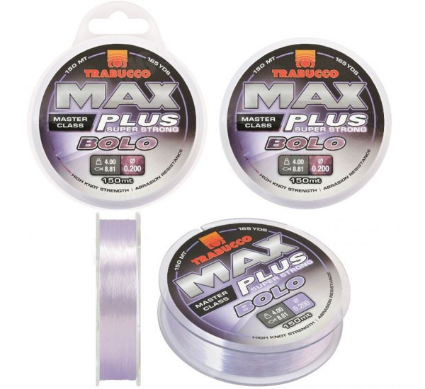 Монофилно влакно Trabucco Max Plus Bolo 150m