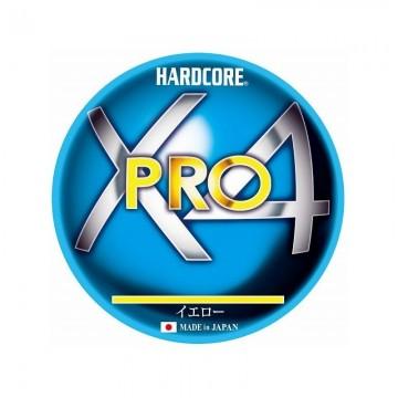 Плетено влакно Duel Hardcore X4 Pro 150м – Yellow
