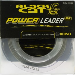 Плетено Влакно за Поводи Black Cat Power Leader