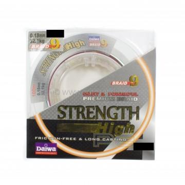 Плетено влакно Daiwa Strength Braid 9 Multi Color 300m