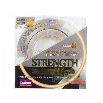 Плетено влакно Daiwa Strength Braid 9 Multi Color