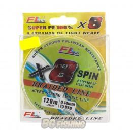 Плетено влакно FL x8 Braid Spin 120м