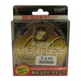 Плетено влакно Gosen DonPepe 300m
