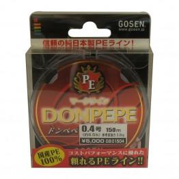 Плетено влакно Gosen DonPepe-4 150m