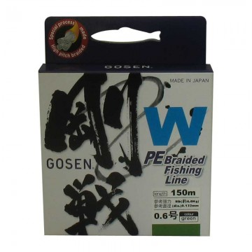 Плетено влакно Gosen-W 4ply Green 150m