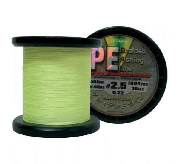 Плетено влакно Lazer PE Braid Yellow 1000m
