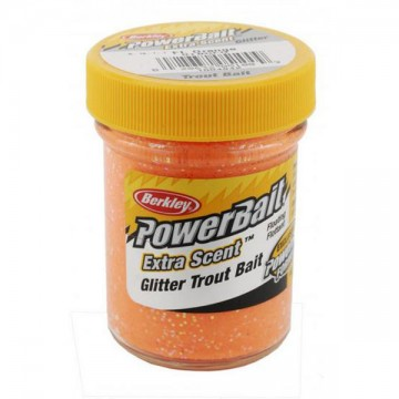 Паста PB - Extra Scent Glitter Trout Bait Fluo Orange