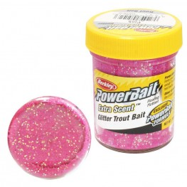 Паста PB - Extra Scent Glitter Trout Bait Pink