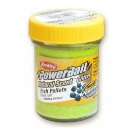 Паста PB - Natural Scent Glitter Fish Pellet - Chartreuse