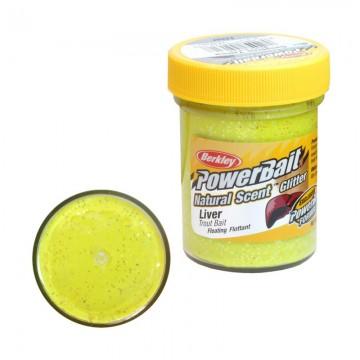 Паста PB - Natural Scent Glitter Liver - Sunshine Yellow