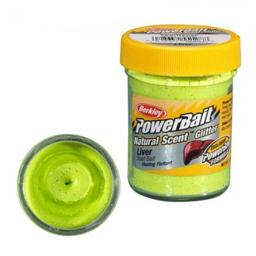 Паста PB - Natural Scent Glitter Liver - Chartreuse