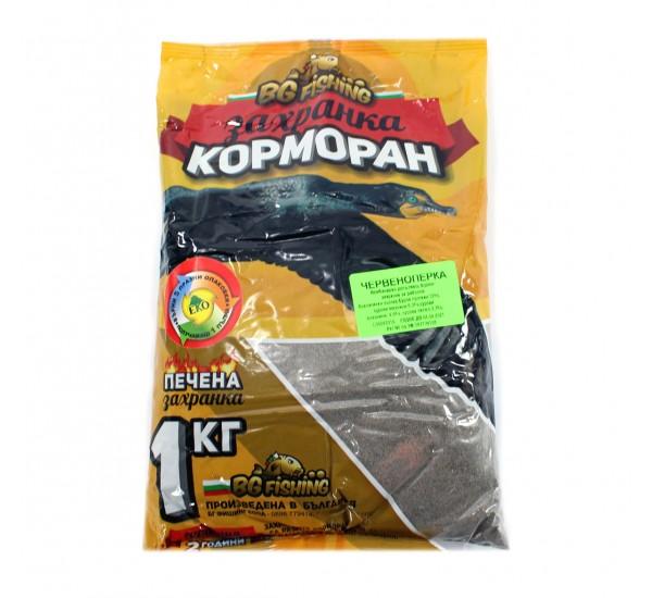 Захранка БГ Фишинг Корморан - червеноперка