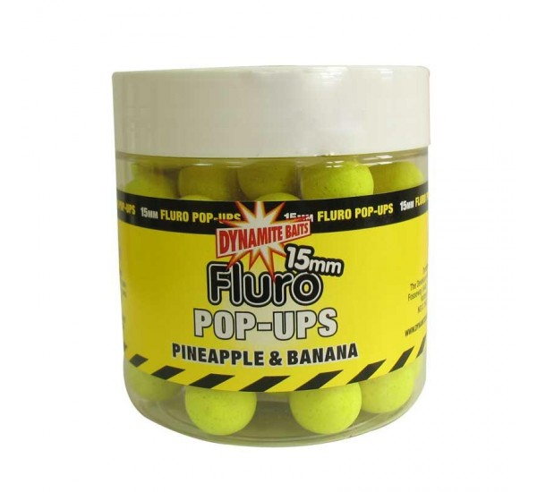 Протеинови топчета DB Fluro Pop-Ups Pineapple