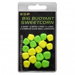 Плуваща силиконова царевица ESP Green Yellow