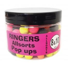 Плуващи топчета RINGERS Allsorts Match POP UP 8/10mm