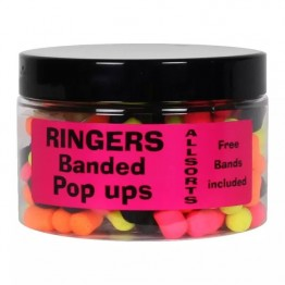 Плуващи топчета Ringers Banded Allsorts Pop-Ups