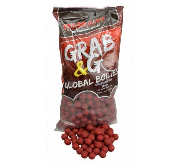 Протеинови топчета Starbaits Grab n Go Global Strawberry