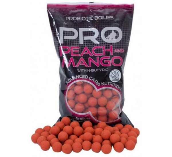 Протеинови топчета Starbaits Probiotic Peach and Mango