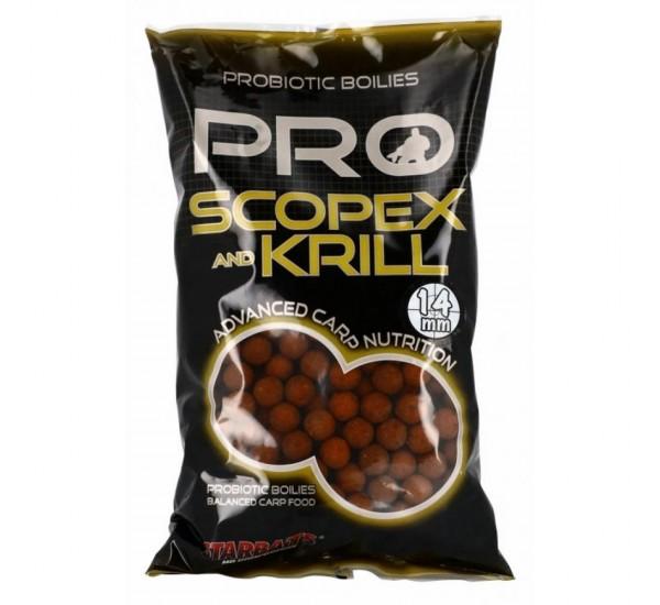 Протеинови топчета Starbaits Probiotic Scopex Krill